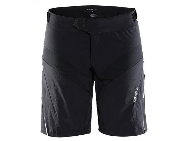 Craft X-Over Women Shorts - S black/white
