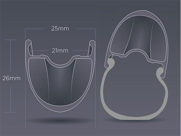 Zipp 30 Course Disc Aluminum Clincher Vorderrad - weiss