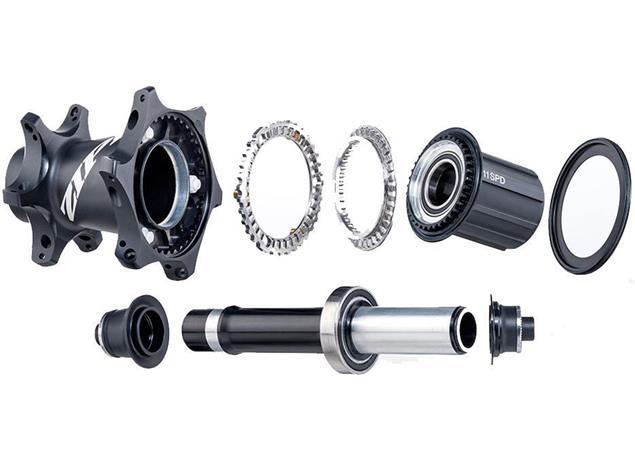 Zipp 808 NSW Carbon Clincher Hinterrad - Shimano/SRAM Drahtreifen