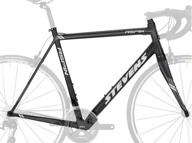 Stevens Aspin Rahmenset Modell 2016 - 56 anodized black