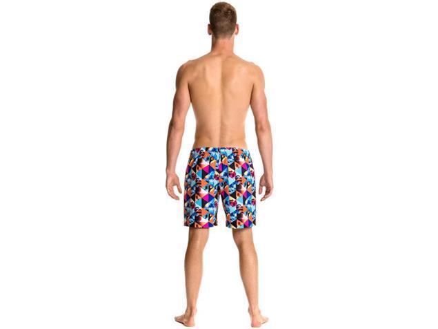 Funky Trunks Summer Snaps Mens Badeshort Long Johnny Short - XS