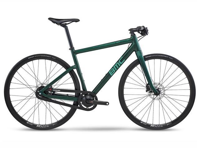BMC Alpenchallenge AC01 IGH Nexus 8 Speedbike - M forest