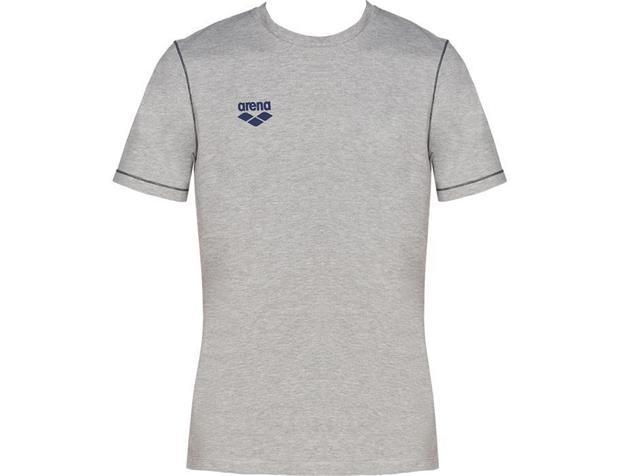 Arena Teamline Tee Shirt - L medium grey melange
