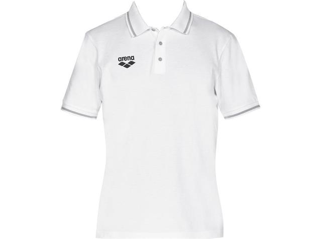 Arena Teamline Polo Shirt - S white