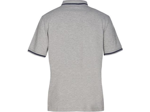 Arena Teamline Polo Shirt - M medium grey melange