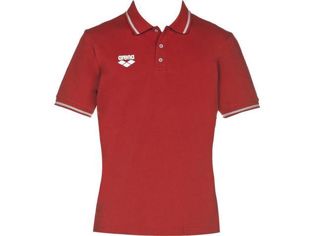 Arena Teamline Polo Shirt - XXL red