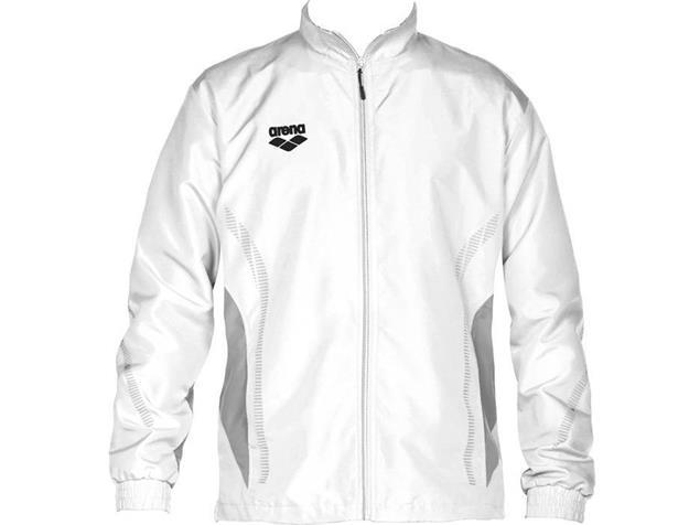Arena Teamline Warm Up Jacket Trainingsjacke - M white/grey