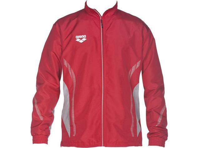 Arena Teamline Warm Up Jacket Trainingsjacke - XXXL red/grey