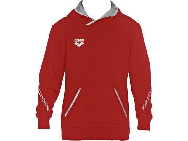 Arena Teamline Junior Hoodie Kaputzenpulli - 152 red