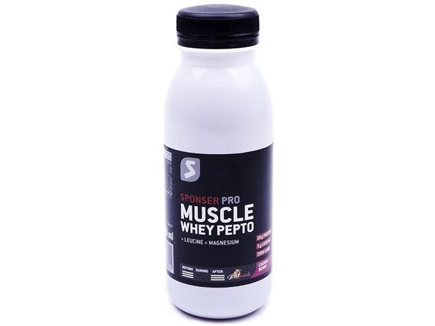 Sponser Muscle Whey Pepto 250 ml - cherry