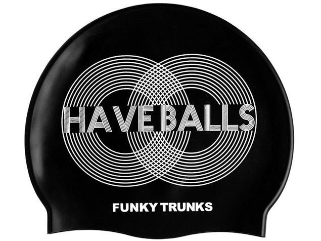 Funky Trunks Have Balls Silikon Badekappe
