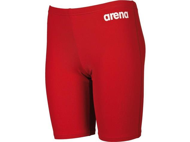 Arena Solid Jammer Jungen Badehose - 128 red/white