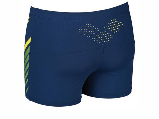 Arena Myre Short Badehose - 4 navy/soft green