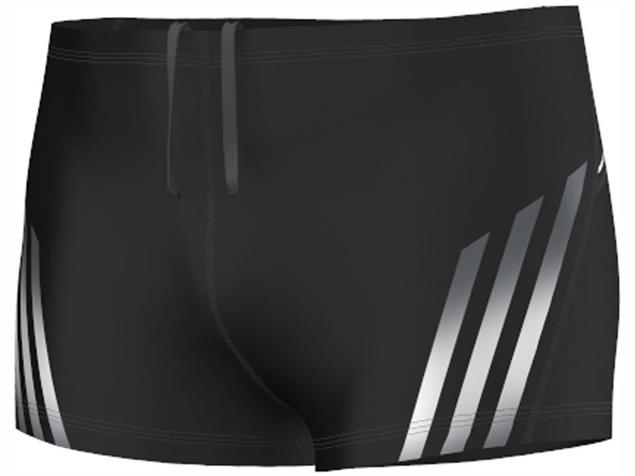 Adidas Streamline Short Badehose 24 cm, Infinitex Motion - 7 black/night