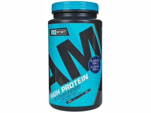 AMSPORT High Protein 600g Dose - blaubeer/vanille