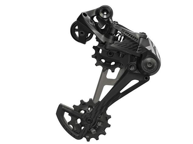 SRAM X.01 Type 3.0 Schaltwerk 12-fach schwarz