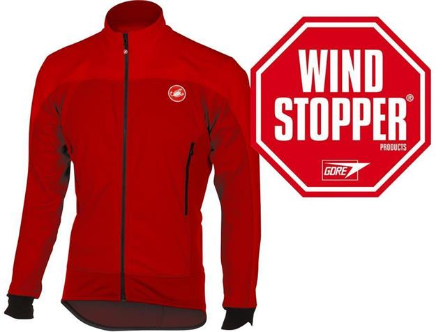 Castelli Mortirolo 4 Winterjacke - M red/ruby red