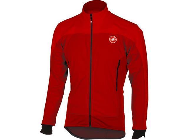 Castelli Mortirolo 4 Winterjacke - L red/ruby red