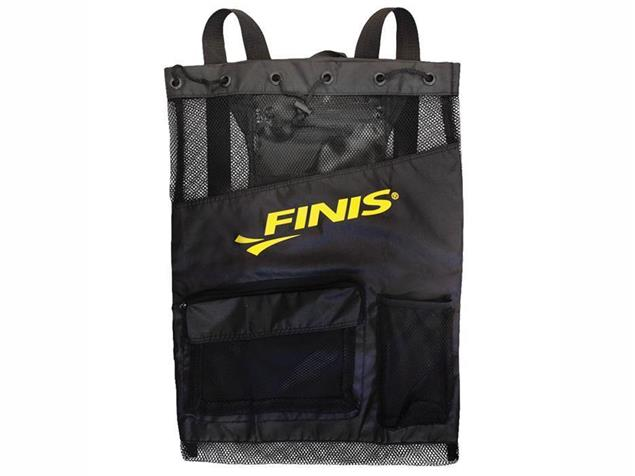 Finis Ultra Mesh Backpack Meshrucksack - black/black