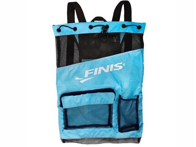 Finis Ultra Mesh Backpack Meshrucksack - blue/black
