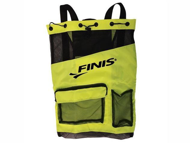Finis Ultra Mesh Backpack Meshrucksack - green/black
