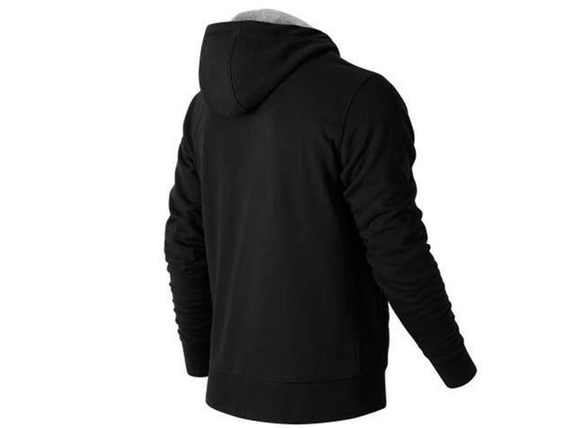 New Balance Logo Hoodie Sweatshirt - M black