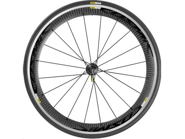 Mavic Cosmic Pro Carbone 25 Laufradsatz - Shimano/SRAM Drahtreifen schwarz