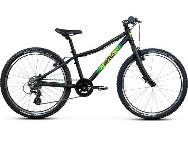 Pyro Twentyfour Mountainbike - S matt schwarz