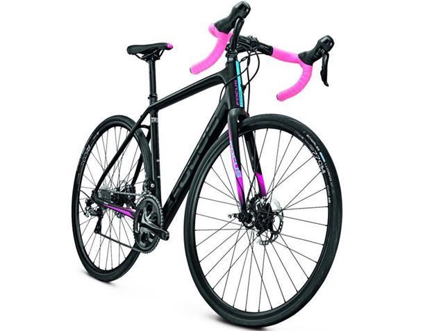 Focus Paralane AL Donna Tiagra Rennrad - 51/S magicblack matt/pink/blue