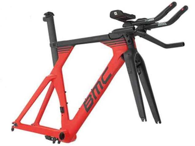 BMC Timemachine TM01 Rahmenset Flat-Cockpit - L red