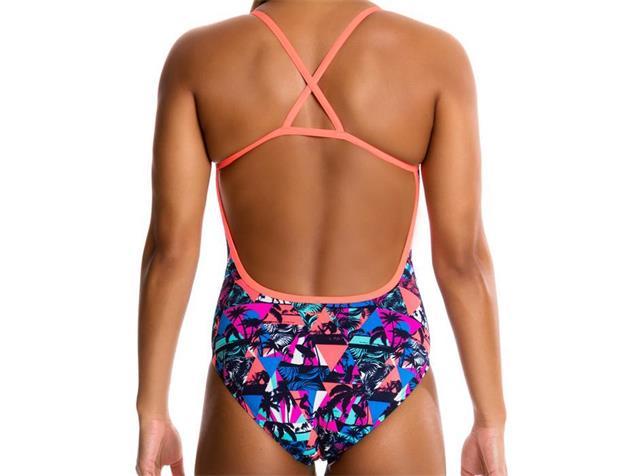 Funkita Beach Dreams Ladies Badeanzug Cross Back - 40 (14)