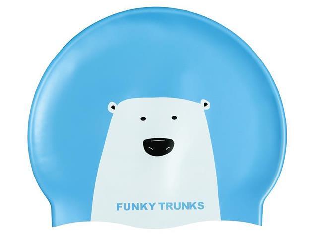 Funky Trunks Bear Grills Silikon Badekappe