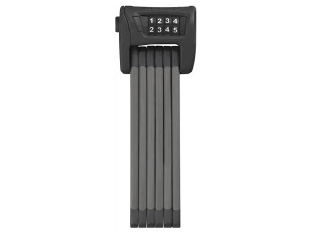 Abus Bordo Combo 6100/90 Faltschloss - schwarz