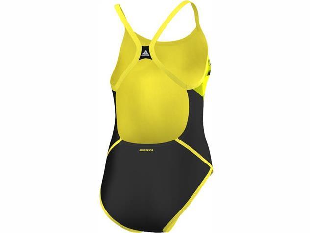 Adidas Streamline Plus Badeanzug X-Back, Infinitex+ - 36 black/bright yellow