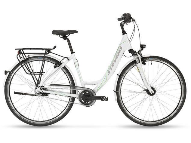 Stevens Elegance Forma Citybike - 46 arctic white