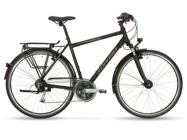 Stevens Jazz Gent Trekkingrad - 48 velvet black