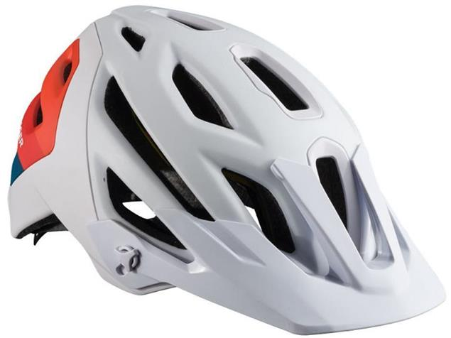 Bontrager Lithos MIPS 2017 Helm - S white/orange