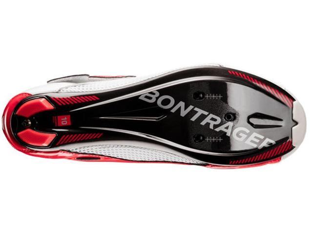 Bontrager Woomera Triathlon Schuh - 43 white/red