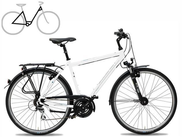 Gudereit LC-30 Edition Einrohr Trekkingrad - 41 matt schwarz