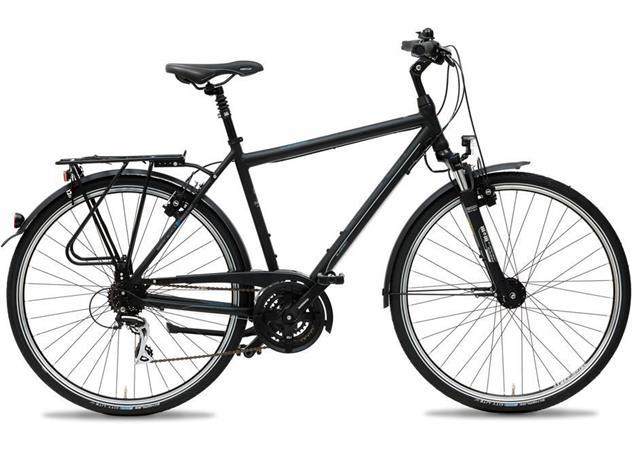 Gudereit LC-30 Edition Herren Trekkingrad - 67 matt schwarz