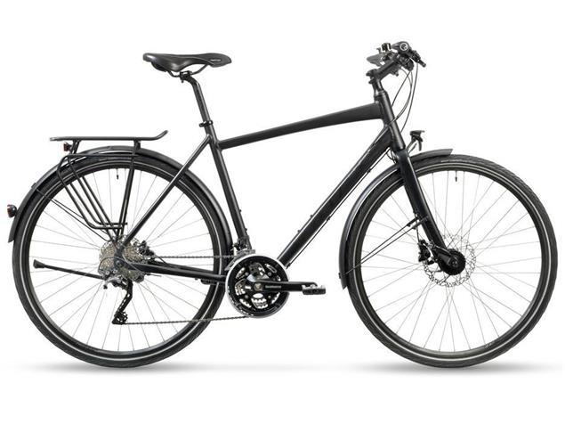 Stevens Randonneur Disc Gent Trekkingrad - 52 velvet black