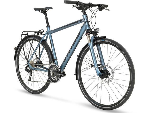 Stevens 6X Tour Gent Trekkingrad - 55 mineral grey