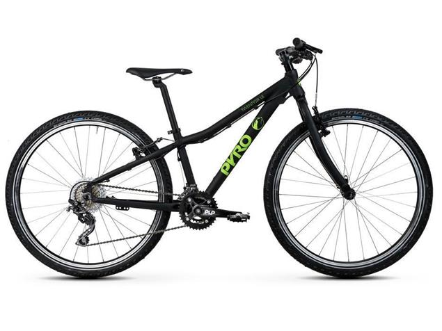 Pyro Twentysix V-Brake 1x9 Mountainbike - S matt schwarz