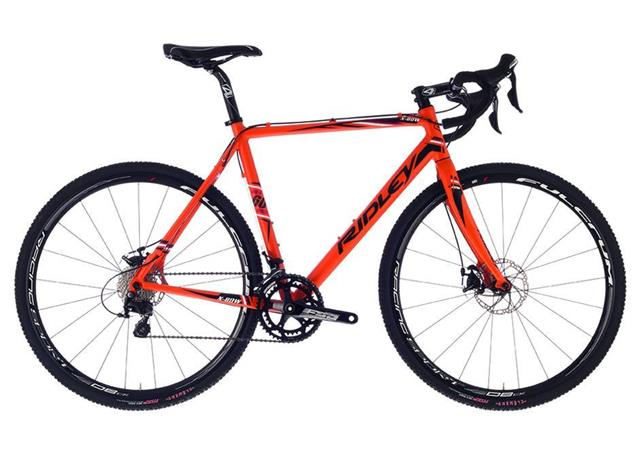 Ridley X-Bow Disc 105 XBO-01CM Cyclocrossrad - 61/XL matte orange/black