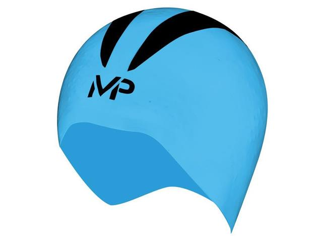 MP Michael Phelps 3D X-O Race Cap Badekappe Größe M - Aqua Sphere - blue/black
