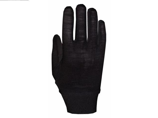 Roeckl Merino 3602-012 Unterziehhandschuh - S schwarz