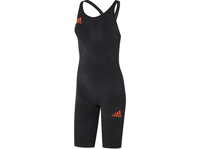 Adidas Adizero XVI Take Down Wettkampfanzug Open Back, Kneesuit - 36 black