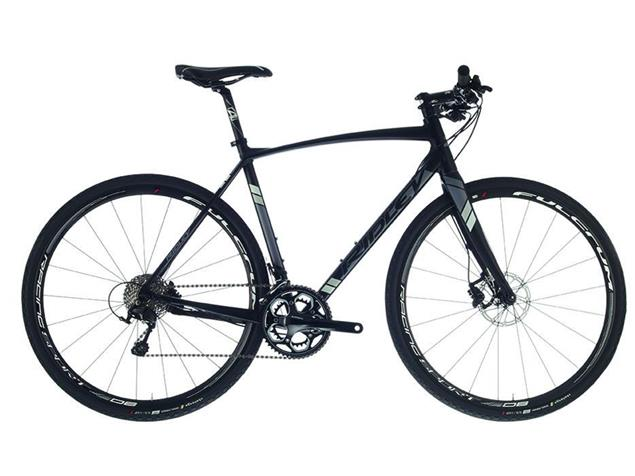 Ridley X-Trail105 Mix HD Flatbar XTA-01Am Fitnessbike - 45/XXS matte black/grey/silver