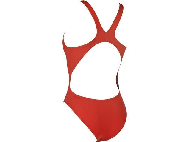 Arena Solid High Badeanzug Swim Tech Back - 36 red/white