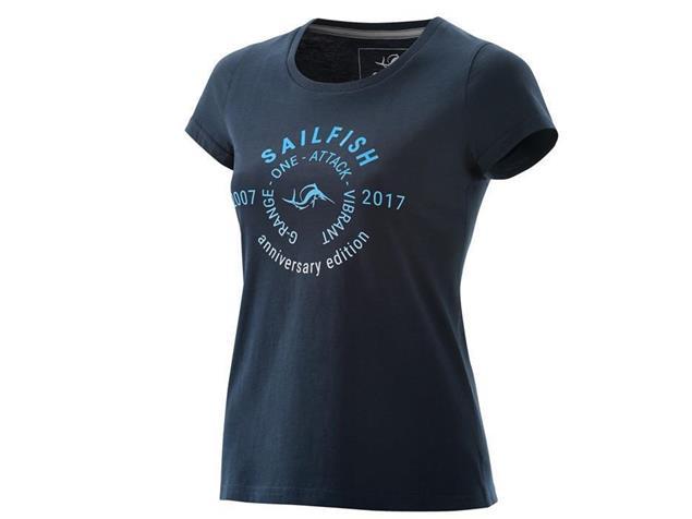 Sailfish Lifestyle Womens T-Shirt Anniversary - XL marine